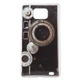 Hülle für Samsung Galaxy S2 19100 im Retro Kamera Design