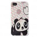 Panda Hart Schale für iPhone 4 und 4S