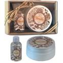 Geschenkset Duschgel & Body Lotion Vanille