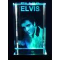 3D Kristall Motiv Elvis Presley