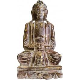 Handgeschnitzte Buddhastatue 50cm