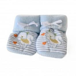 Babyfinken blau für Neugeborene