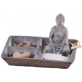 """Buddha Deko Set """"Zen Garten"""""""