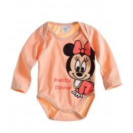 Babyanzug lachs Pretty Minnie