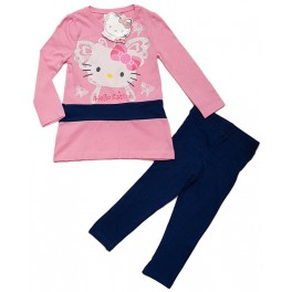 2-Teiler langarm Hello Kitty