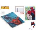Schulheft kariert Spiderman